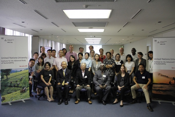 Group photo at Case Study Workshop Tokyo 2015