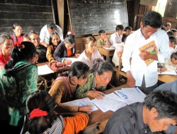 Photo 4 Workshop for villagers