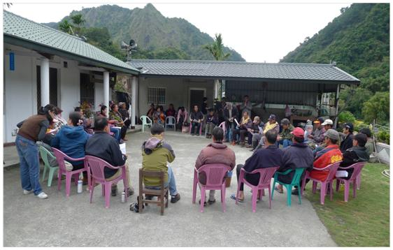 Picture 7 Most multi-stakeholder platform meetings were held in the local village