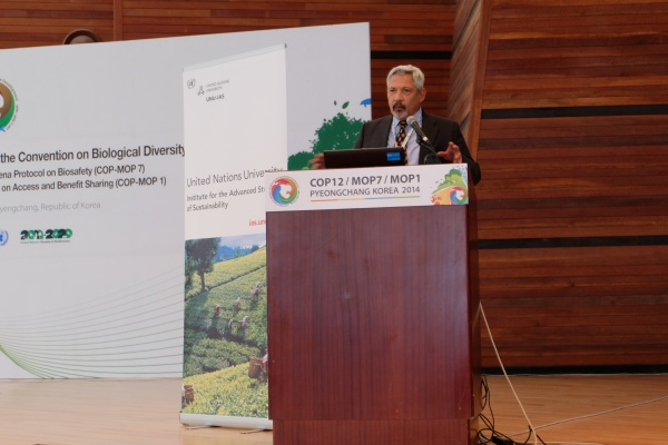 Dr. Pablo Eyzaguirre of Bioversity International