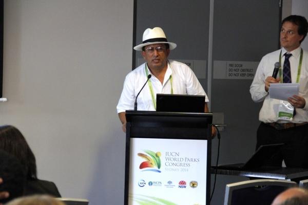 Mr. Jairo Diaz of FIDES