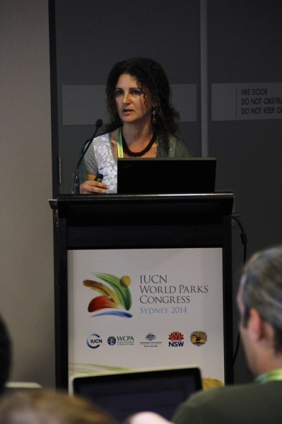 Ms. Nadia Bergamini of Bioversity International launches the Toolkit for the Indicators of Resilience in SEPLS