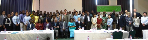 Participants in the Satoyama Initiative Regional Workshop in Africa 2015