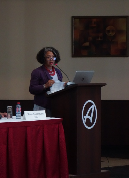 Dr. Tanya Abrahamse of the South African National Biodiversity Institute