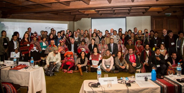 Participants in the Satoyama Initiative Regional Workshop in Peru 2016