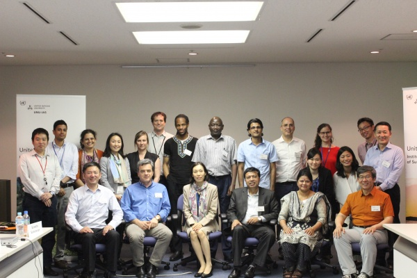 Participants in the 2016 IPSI Case Study Workshop