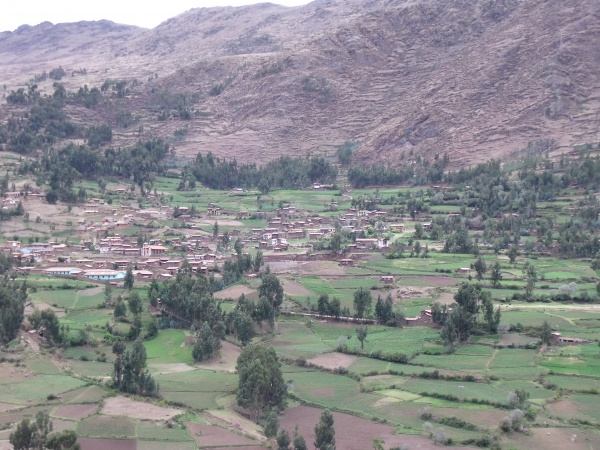 Photo 1: One of the communities in the Potato Park