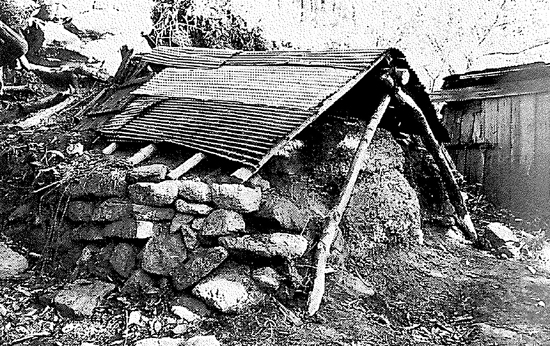 ◆Charcoal kiln used to produce wood charcoal
