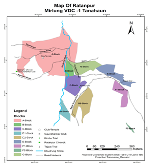 KAFCOL map