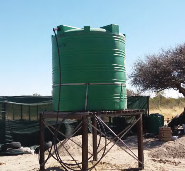 Water supply for the Otshiku-tshiithilonde Emerging Community Forest (OCF) nursery, COMDEKS Namibia