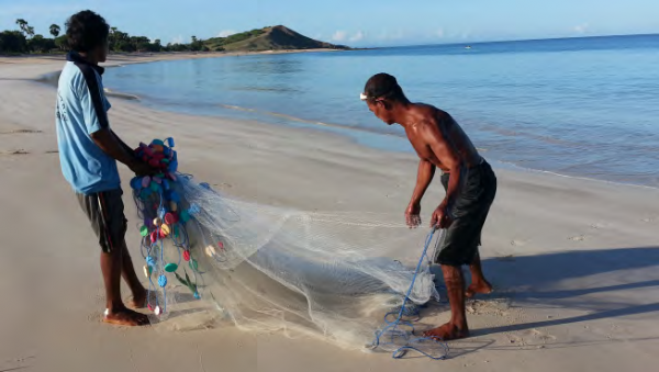 Fishing and seaweed farming are the major sources of income in Semau Island, COMDEKS Indonesia