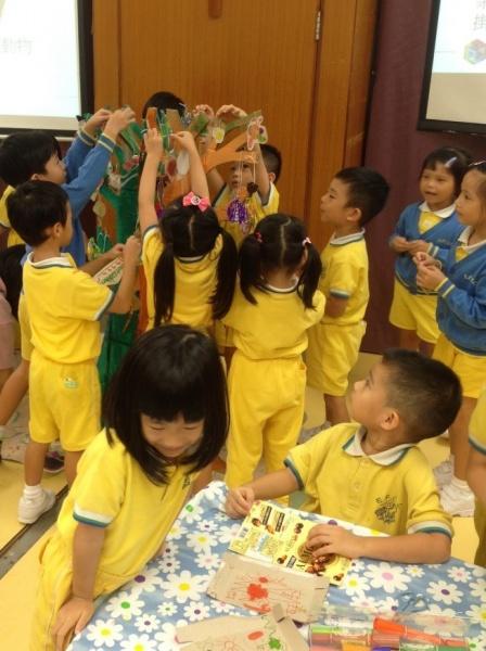 Art workshop for pre-school education