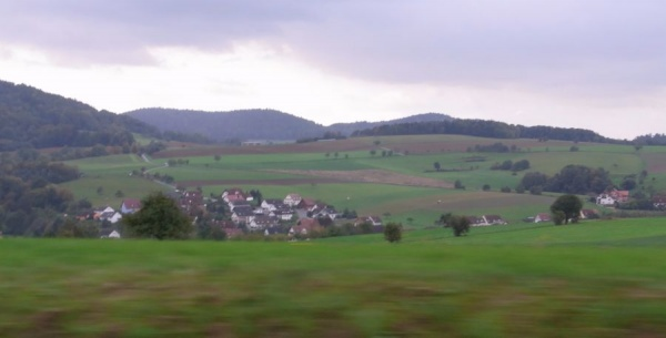 Photo 1. Common German country Landscape (Photo by JWRC)