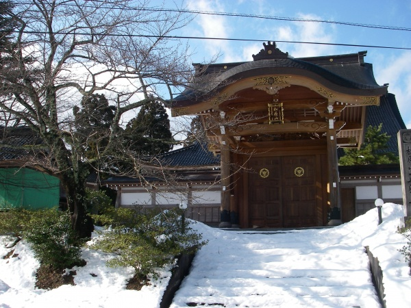 Picture 1: Shoganji Temple  (one of the Five Temples of Kanakura)