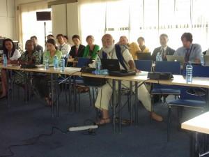 Active participation of discussion