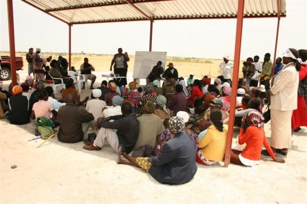 VRA meeting in Olukonda