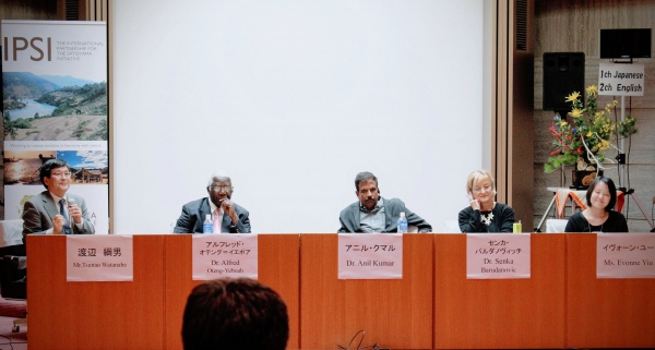 Panelists for the International Symposium on Biocultural Diversity