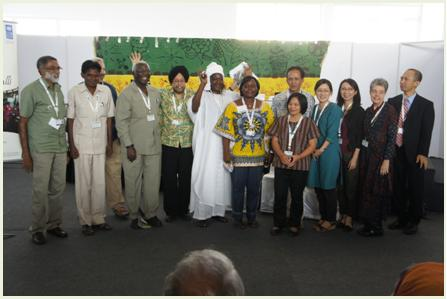 Presenters, discussants and co-chairs  gather for a group photo