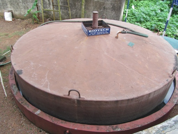 25 cu.m biogas plant implemented at fish market in Kerala for street lighting