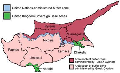 Figure 1: Cyprus map