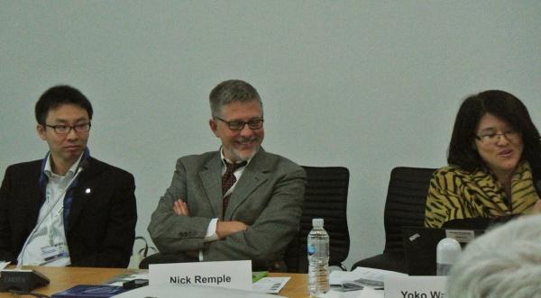 Mr. Nick Remple of UNDP-COMDEKS