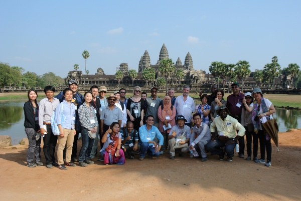 IPSI-6 participants at Angkor Wat temple