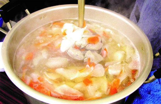 ◆Recipes of SaTsumire soup based on the blessings of the ocean of Sakihama