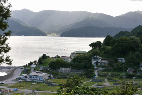 ◆View from highland of the Sakihama district