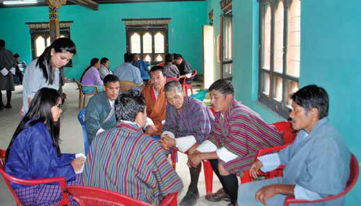 Group discussion with the community people