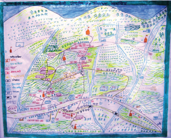 Village mapping: a strategy for collaboration and community empowerment, COMDEKS India