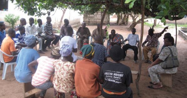 Participatory stakeholder workshop, COMDEKS Ghana