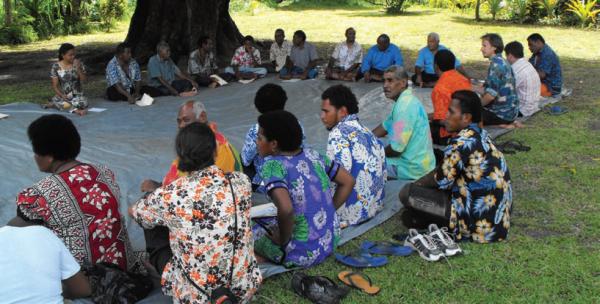 Participatory landscape assessment, COMDEKS Fiji