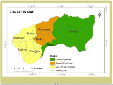 Figure B-1. Gamri Watershed Zones