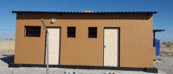 Iipumbu-Ya-Tshilongo Conservancy resource monitoring facility, COMDEKS Namibia