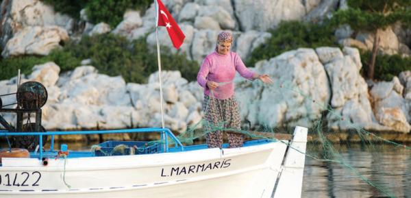 Sustainable fishing in Gokova Bay, COMDEKS Turkey
