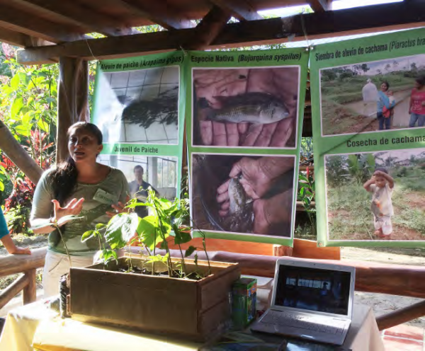 Organic foods workshop, COMDEKS Ecuador