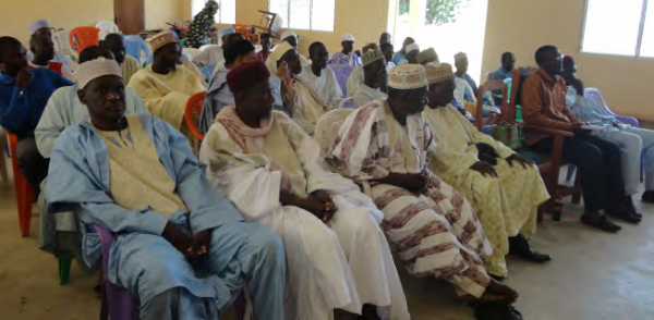 Traditional authorities attend a COMDEKS workshop in Bogo, COMDEKS Cameroon