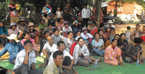Savings group monthly meeting, COMDEKS Cambodia