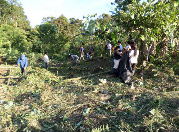 Restoring the traditional Kichwa chakra family farming system, COMDEKS Ecuador