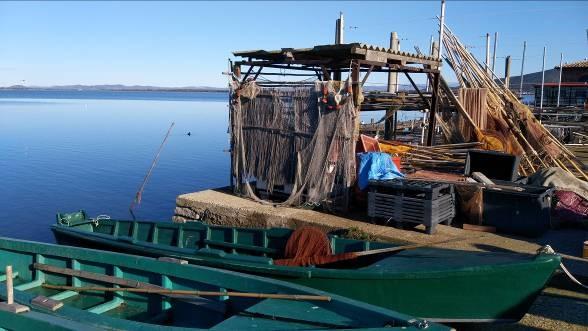 Figure 8. Fishing station in Orbetello (Photo: Guido Gualandi)