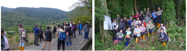 Field trips of the TPSI-E in Xinshe village, Hualien