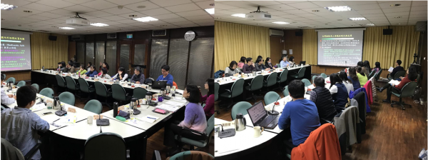 A Capacity-building Workshop on TPSI Extension for administrative staffs of the Forestry Bureau Headquarters and its 8 district offices was held in 10 May 2017, Taipei