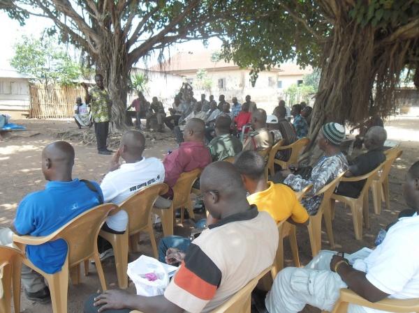 Stakeholders meeting at Saviefe Deme