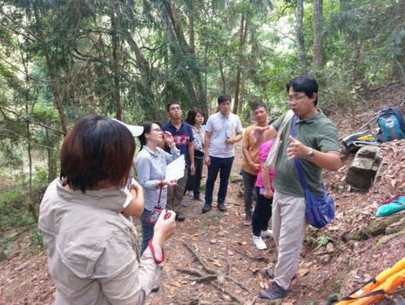 Learners participate in forest resource study and accumulate environment monitoring data through citizen science