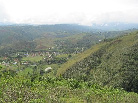 Figure 6. Panoramic view of San Jose del Salado from RNSC Carare (Photo Sebastian Orjuela)