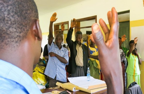 Figure 9. Participatory exercises in Rakai, Uganda